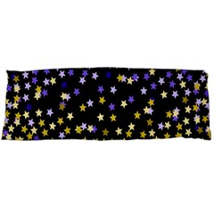 Space Star Light Gold Blue Beauty Body Pillow Case Dakimakura (two Sides) by Mariart