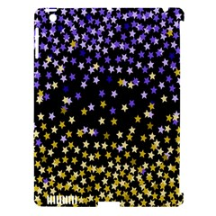 Space Star Light Gold Blue Beauty Apple Ipad 3/4 Hardshell Case (compatible With Smart Cover) by Mariart