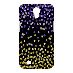 Space Star Light Gold Blue Beauty Samsung Galaxy Mega 6 3  I9200 Hardshell Case by Mariart