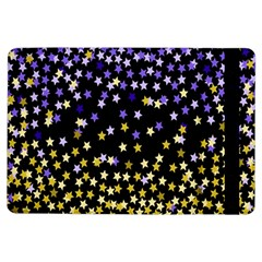 Space Star Light Gold Blue Beauty Ipad Air Flip by Mariart