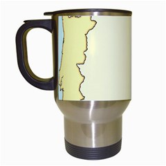 Spain Map Modern Travel Mugs (white) by Mariart