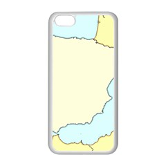 Spain Map Modern Apple Iphone 5c Seamless Case (white) by Mariart