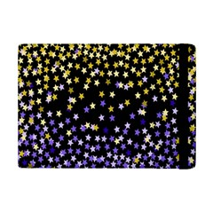 Space Star Light Gold Blue Beauty Black Ipad Mini 2 Flip Cases by Mariart
