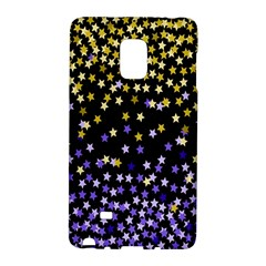 Space Star Light Gold Blue Beauty Black Galaxy Note Edge by Mariart