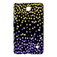 Space Star Light Gold Blue Beauty Black Samsung Galaxy Tab 4 (8 ) Hardshell Case  by Mariart