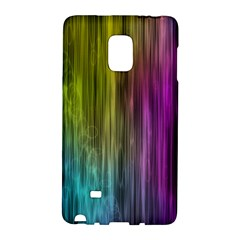 Rainbow Bubble Curtains Motion Background Space Galaxy Note Edge by Mariart