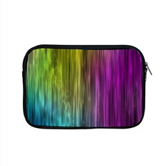 Rainbow Bubble Curtains Motion Background Space Apple Macbook Pro 15  Zipper Case by Mariart