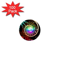Space Star Planet Light Galaxy Moon 1  Mini Magnets (100 Pack)  by Mariart