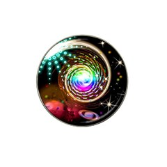 Space Star Planet Light Galaxy Moon Hat Clip Ball Marker (10 Pack) by Mariart