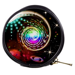 Space Star Planet Light Galaxy Moon Mini Makeup Bags
