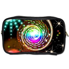 Space Star Planet Light Galaxy Moon Toiletries Bags by Mariart