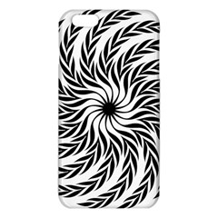 Spiral Leafy Black Floral Flower Star Hole Iphone 6 Plus/6s Plus Tpu Case by Mariart