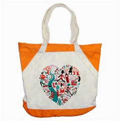 London Illustration City Accent Tote Bag by Mariart