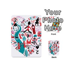 London Illustration City Playing Cards 54 (mini)  by Mariart