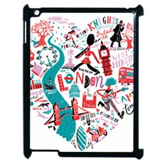 London Illustration City Apple Ipad 2 Case (black) by Mariart