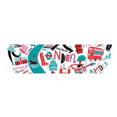 London Illustration City Satin Scarf (oblong) by Mariart
