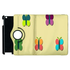 Spring Butterfly Wallpapers Beauty Cute Funny Apple Ipad 2 Flip 360 Case by Mariart