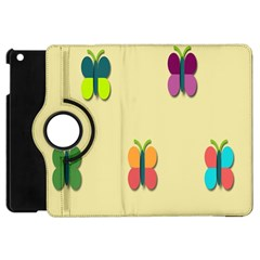Spring Butterfly Wallpapers Beauty Cute Funny Apple Ipad Mini Flip 360 Case by Mariart