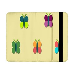 Spring Butterfly Wallpapers Beauty Cute Funny Samsung Galaxy Tab Pro 8 4  Flip Case by Mariart