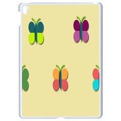 Spring Butterfly Wallpapers Beauty Cute Funny Apple Ipad Pro 9 7   White Seamless Case by Mariart