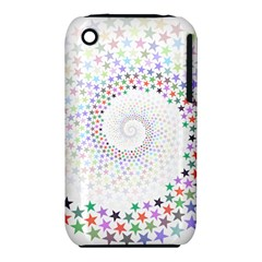 Prismatic Stars Whirlpool Circlr Rainbow Iphone 3s/3gs by Mariart