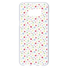 Star Rainboe Beauty Space Samsung Galaxy S8 Plus White Seamless Case