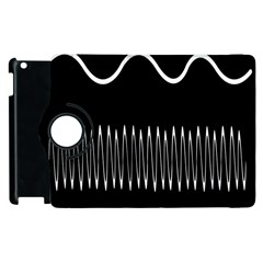 Style Line Amount Wave Chevron Apple Ipad 3/4 Flip 360 Case by Mariart