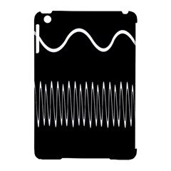 Style Line Amount Wave Chevron Apple Ipad Mini Hardshell Case (compatible With Smart Cover) by Mariart