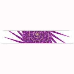 Spiral Purple Star Polka Small Bar Mats by Mariart