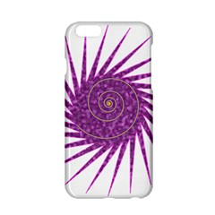 Spiral Purple Star Polka Apple Iphone 6/6s Hardshell Case by Mariart