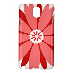 Sunflower Flower Floral Red Samsung Galaxy Note 3 N9005 Hardshell Case by Mariart