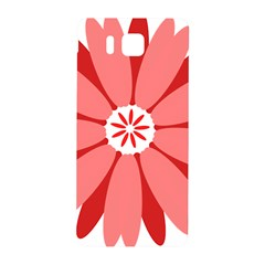 Sunflower Flower Floral Red Samsung Galaxy Alpha Hardshell Back Case by Mariart