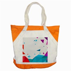 Triangle Chevron Colorfull Accent Tote Bag
