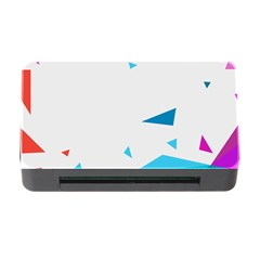 Triangle Chevron Colorfull Memory Card Reader With Cf by Mariart