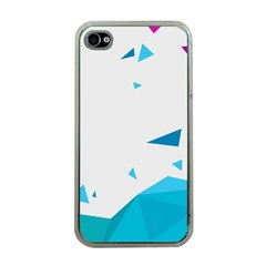 Triangle Chevron Colorfull Apple Iphone 4 Case (clear) by Mariart