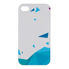 Triangle Chevron Colorfull Apple Iphone 4/4s Hardshell Case by Mariart