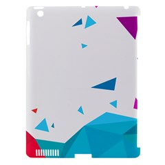 Triangle Chevron Colorfull Apple Ipad 3/4 Hardshell Case (compatible With Smart Cover) by Mariart