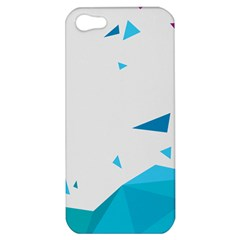 Triangle Chevron Colorfull Apple Iphone 5 Hardshell Case by Mariart