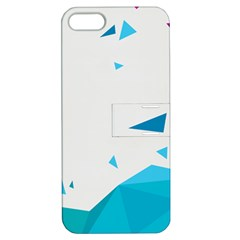 Triangle Chevron Colorfull Apple Iphone 5 Hardshell Case With Stand by Mariart