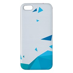 Triangle Chevron Colorfull Apple Iphone 5 Premium Hardshell Case by Mariart