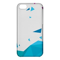 Triangle Chevron Colorfull Apple Iphone 5c Hardshell Case by Mariart