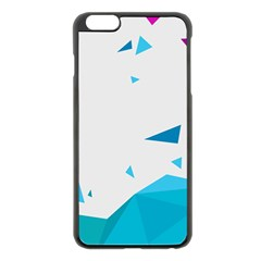 Triangle Chevron Colorfull Apple Iphone 6 Plus/6s Plus Black Enamel Case by Mariart
