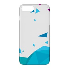 Triangle Chevron Colorfull Apple Iphone 7 Plus Hardshell Case by Mariart