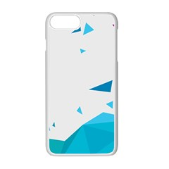 Triangle Chevron Colorfull Apple Iphone 7 Plus White Seamless Case by Mariart