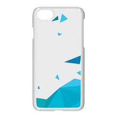 Triangle Chevron Colorfull Apple Iphone 7 Seamless Case (white) by Mariart