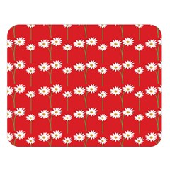 Sunflower Red Star Beauty Flower Floral Double Sided Flano Blanket (large)  by Mariart