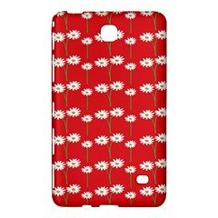 Sunflower Red Star Beauty Flower Floral Samsung Galaxy Tab 4 (7 ) Hardshell Case  by Mariart
