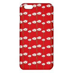 Sunflower Red Star Beauty Flower Floral Iphone 6 Plus/6s Plus Tpu Case by Mariart
