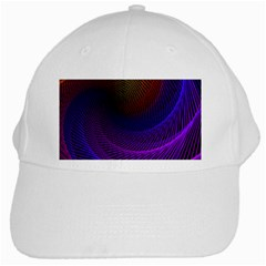 Striped Abstract Wave Background Structural Colorful Texture Line Light Wave Waves Chevron White Cap by Mariart
