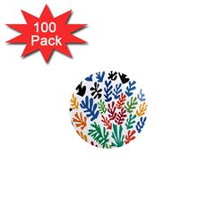 The Wreath Matisse Beauty Rainbow Color Sea Beach 1  Mini Magnets (100 Pack)